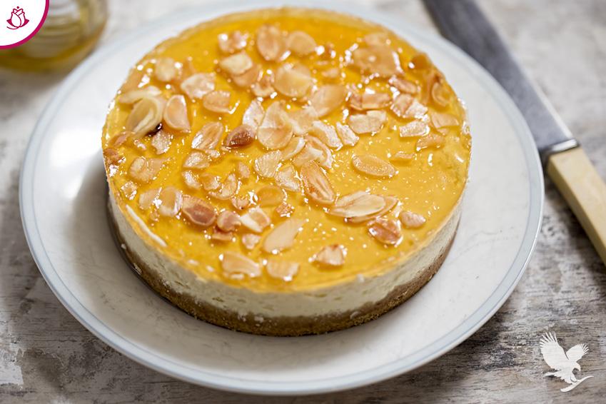 Immagine Cheesecake alle mandorle e miele