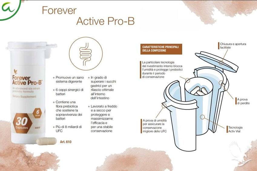 La Rosa Del Benessere - Forevere Active pro-B Confezione Activ vial