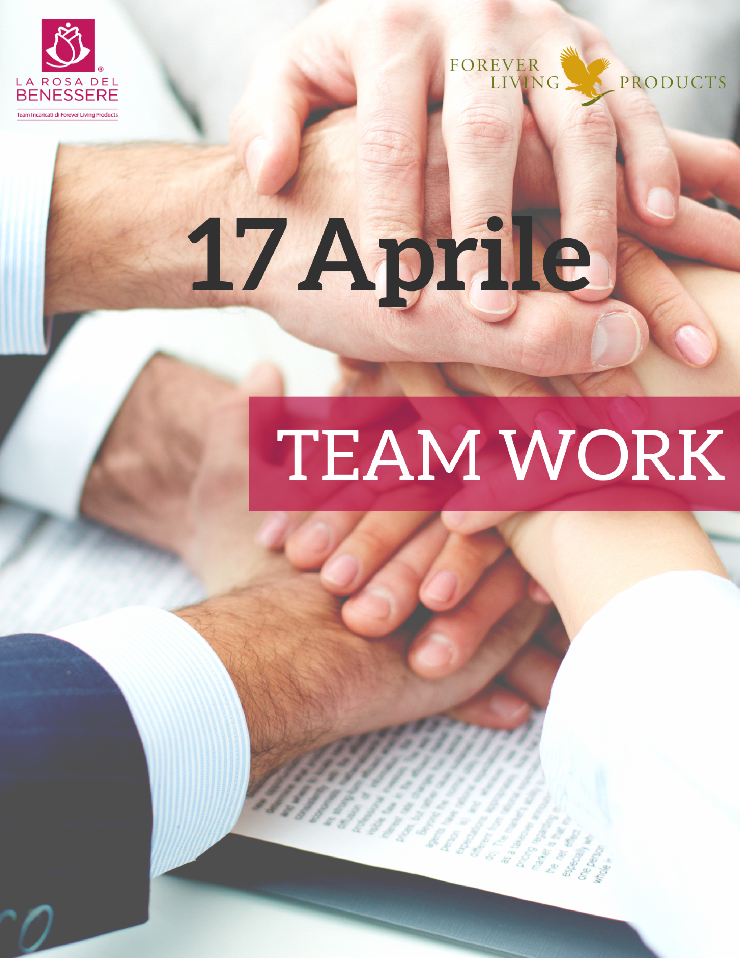 Locandina evento Teamwork Treviso