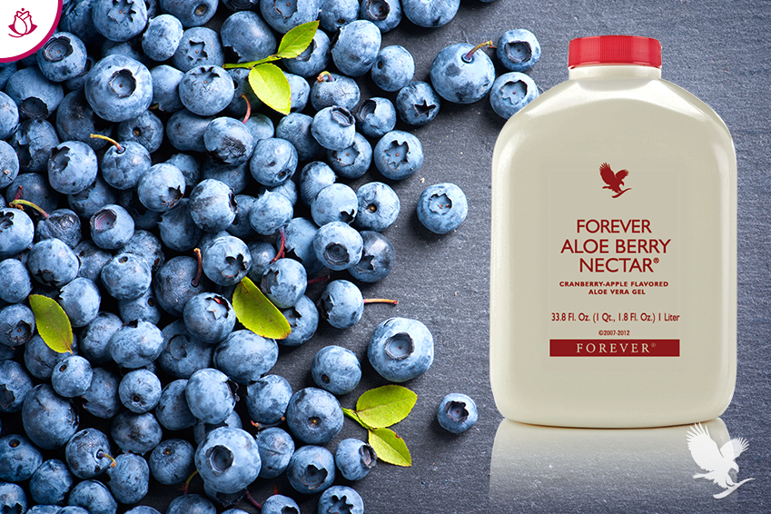 benefici mirtillo aloe berry nectar