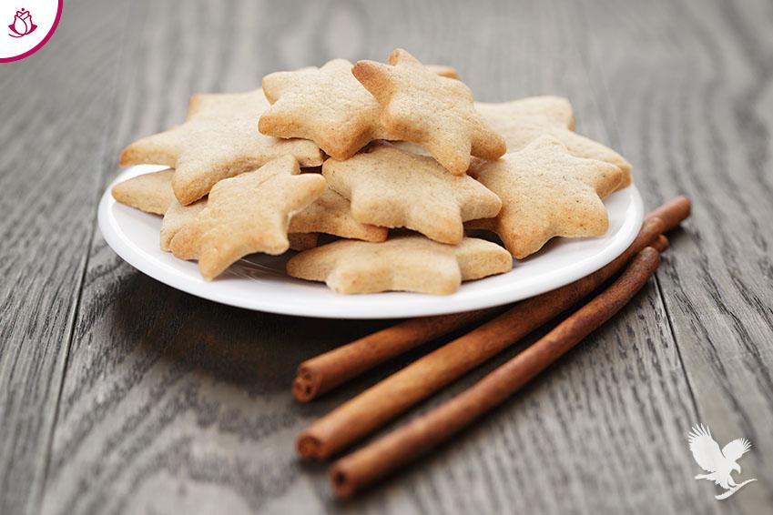 Biscotti con Forever Lite Ultra alla vaniglia