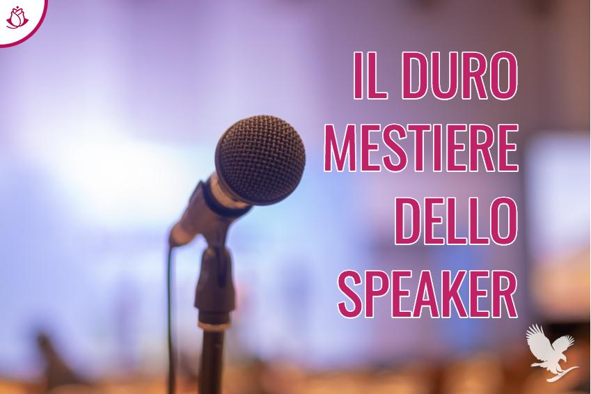 IL DURO MESTIERE DELLO SPEAKER