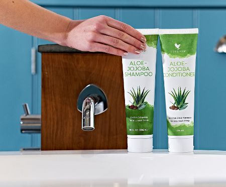 Forever Aloe Jojoba Shampoo Conditioner - Succoaloevera