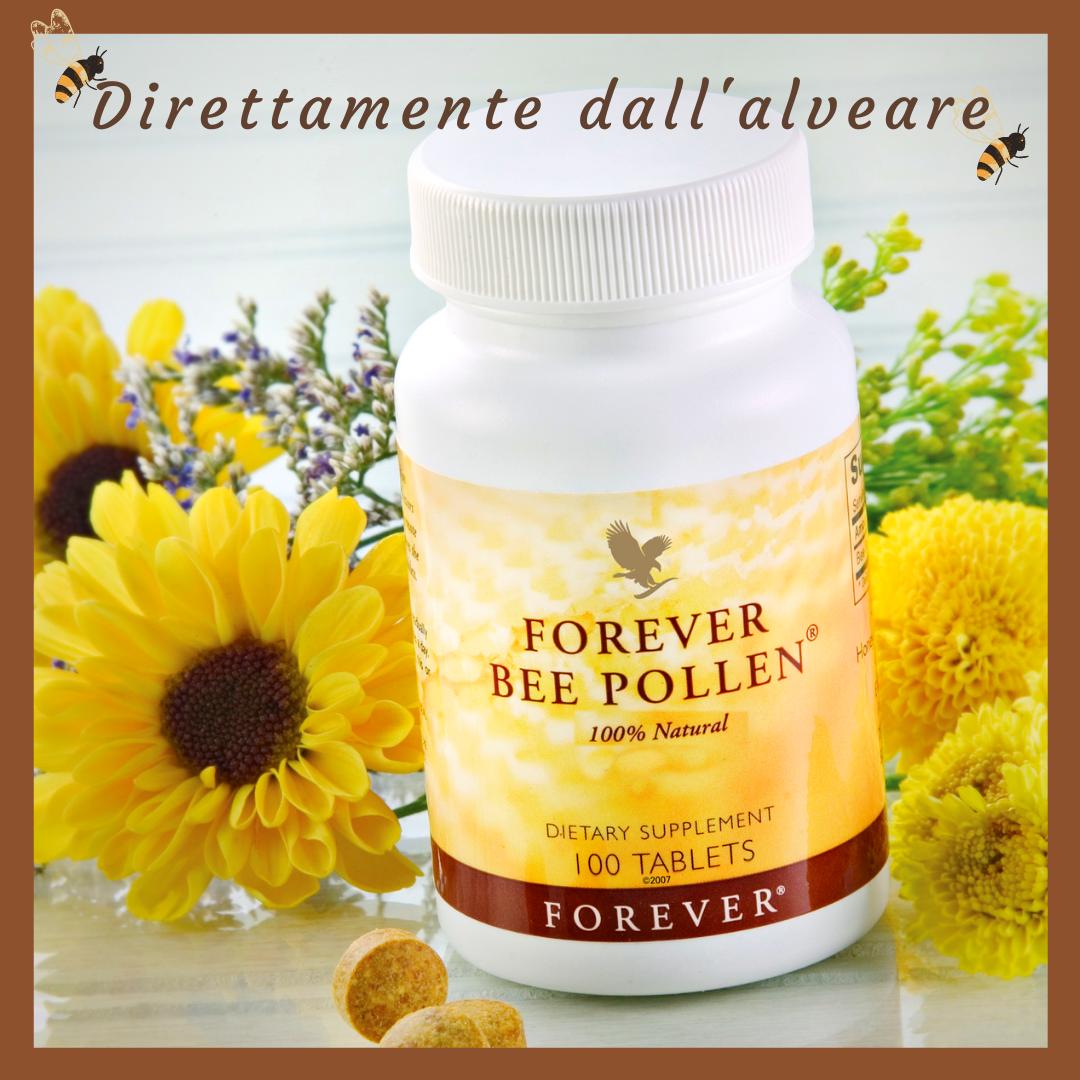 IL POLLINE AIUTA A RAFFORZARE IL SISTEMA IMMUNITARIO - Scopriamo Forever Bee Pollen - SuccoAloeVera - Forever Living