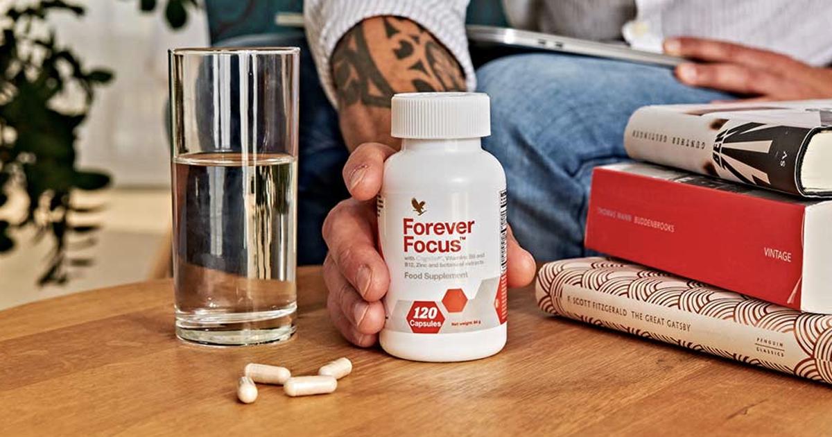 Forever Focus - Favorisci lucidità, concentrazione e funzioni cognitive! - SuccoAloeVera - Forever Living Products