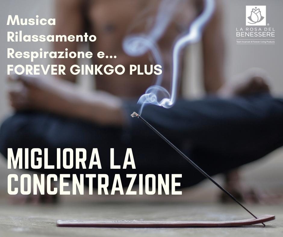 FOREVER GINKGO PLUS…tienilo in mente! - Succoaloevera - Forever Living