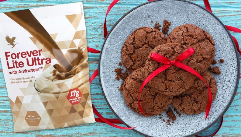 Biscotti e Forever Lite Ultra verona Cioccolato - SuccoAloeVera