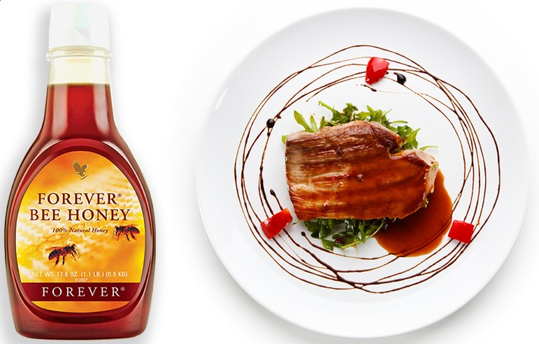 Filetto di manzo al miele con Forever Bee Honey - SuccoAloeVera