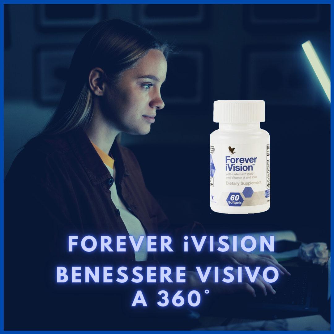 FOREVER iVISION - IL FUTURO DEGLI INTEGRATORI PER LA VISTA - SuccoAloeVera - Forever Living