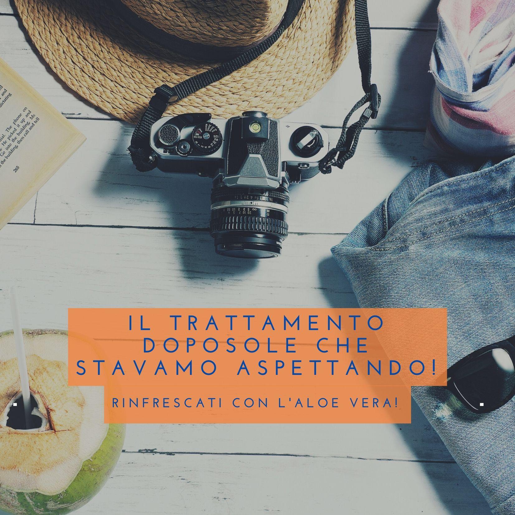 IL TRATTAMENTO DOPOSOLE CHE STAVAMO CERCANDO - RINFRESCATI CON L'ALOE VERA - SUCCOALOEVERA - FOREVER LIVING PRODUCTS