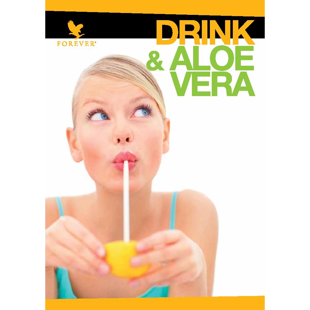BROCHURE DRINK & ALOE VERA - 25 pz