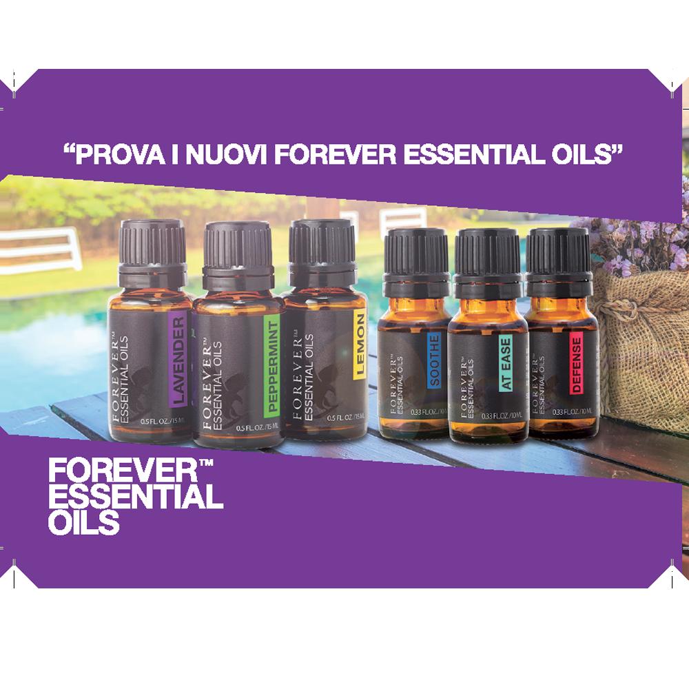 INVITO FOREVER ESSENTIAL OILS (50 pz)