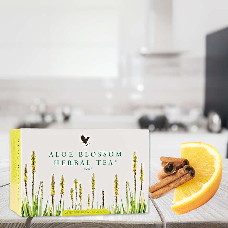 Aloe Blossom Herbal Tea