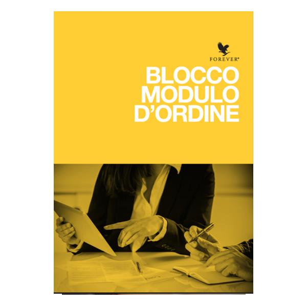 BLOCCO MODULI D'ORDINE