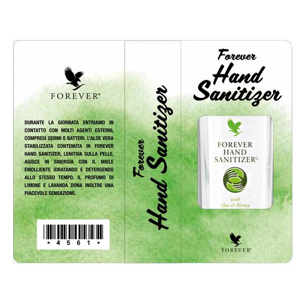 MINI-FOLDER ADESIVO FOREVER HAND SANITIZER