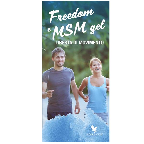 DEPLIANT FREEDOM & MSM GEL - 25 PZ