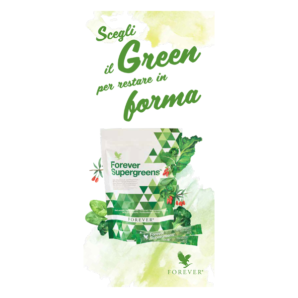 Pieghevole Forever Supergreens